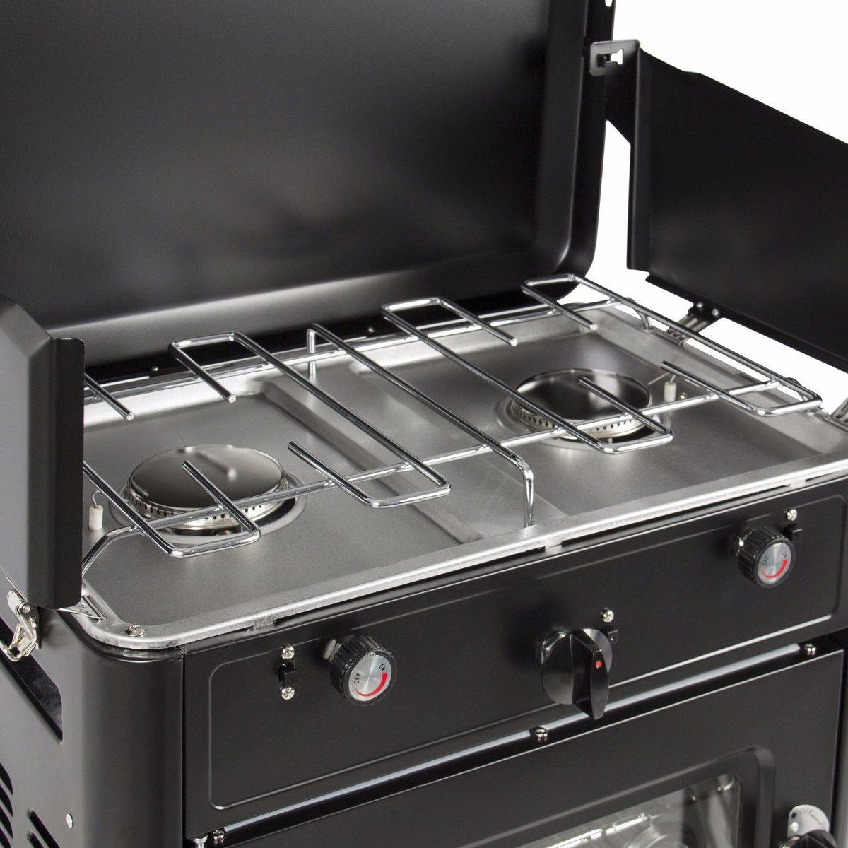Estufa portatil campamento aire libre cocina gas propano for Estufas de cocina de gas