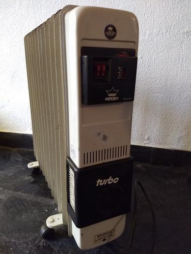 estufa radiador de aceite imperio 2250 w 12 elementos c/vent