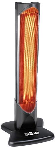 estufa radiante calefactor infrarrojo liliana cv026 1200 w