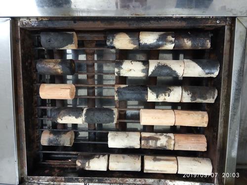 estufa restaurante con parrilla-freidora-vaporizador y más..