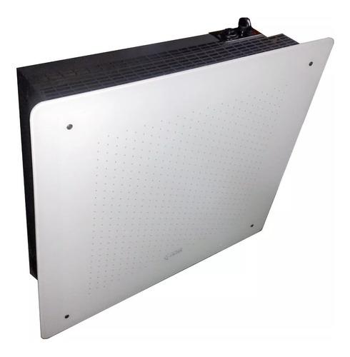 estufa sin salida vidrio templado negro 5000 envio gratis