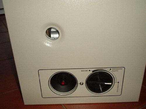 estufa tiro balanceado clover 2000c para gas envasado nuevo