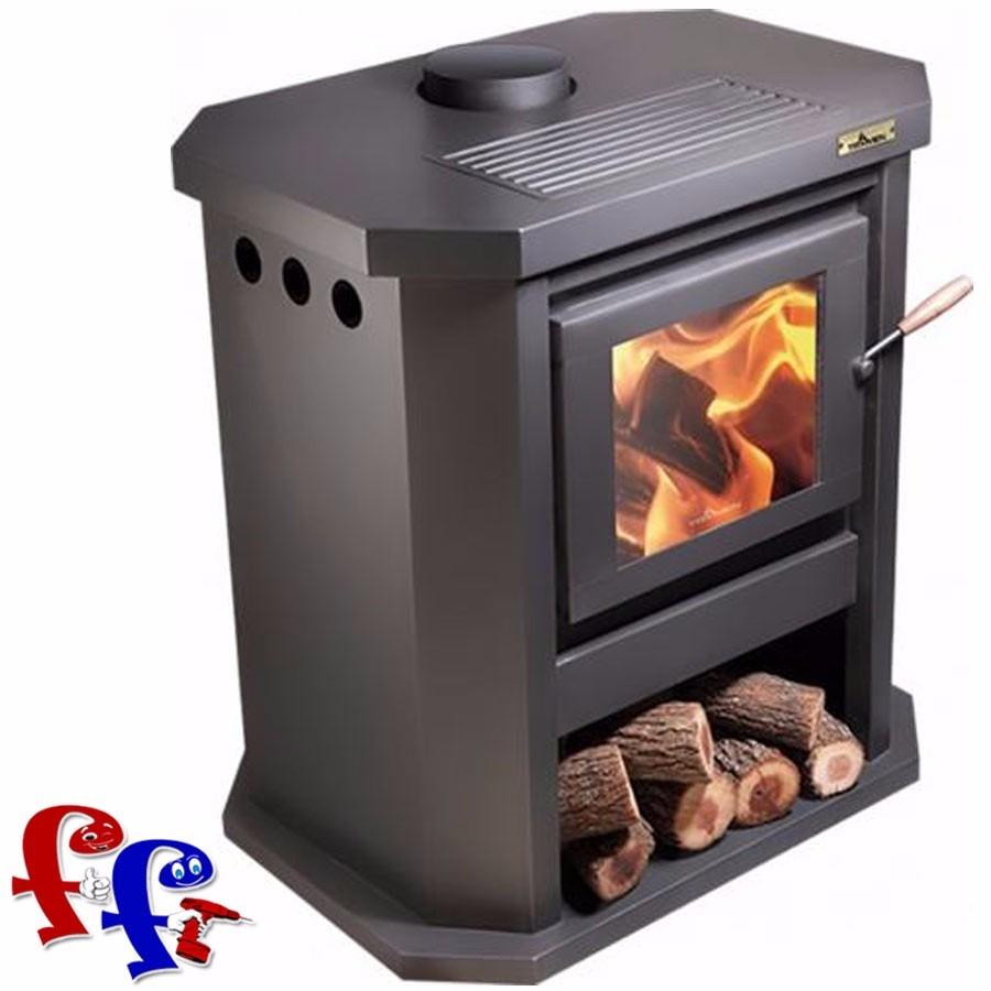 Estufa calefactor salamandr tromen le a doble puerta tr12002 u s en mercado libre - Estufa lena pequena ...