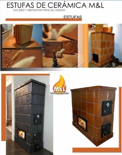 estufas de cerámica mayólica m&l