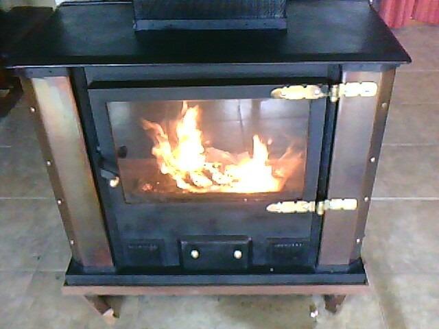 Estufas de hierro artesencalormturbinas con ca o de humo - Estufas de hierro ...