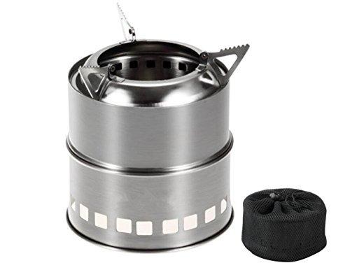 estufas de madera para camping ligero kit compacto para c...