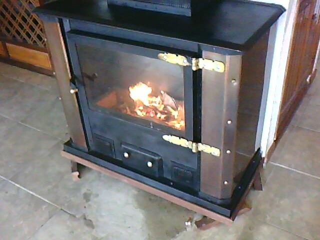 Estufas y calefactores a le a hierro aire forzado - Estufas de lena de hierro ...