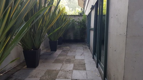 estupendo garden en la mejor calle de polanco con terrazas