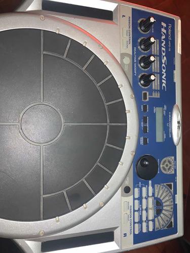 estupendo set de percusión manual roland hand sonic hdp15