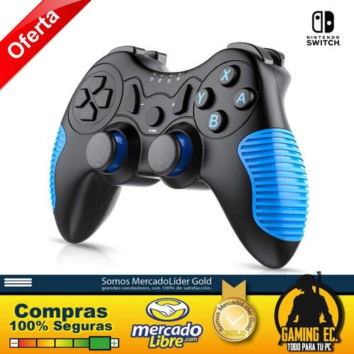 esywen mando inalámbrico para nintendo switch pro azul