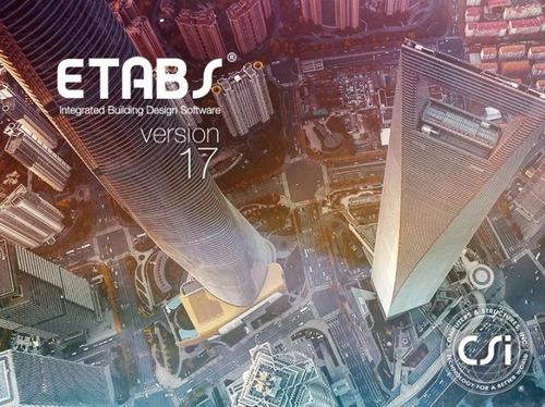 etabs 2017 64 bits: versión 17.0.1