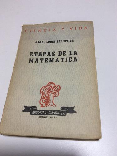 etapas de la matemática jean louis pelletier