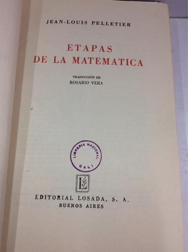 etapas de la matemática, jean- louis pelletier
