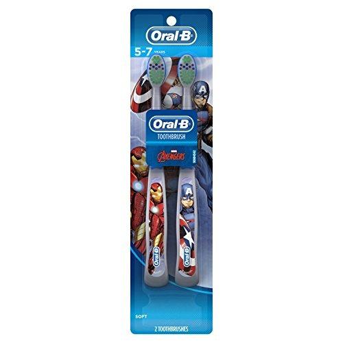 Etapas Pro Salud Oral-b Vengadores Montan Cepillos De Diente -   56.990 en  Mercado Libre 72053dc19973