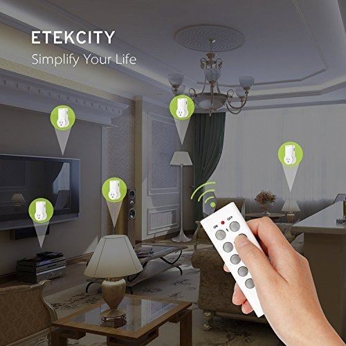 etekcity upgraded version interruptor de tomacorriente inalá