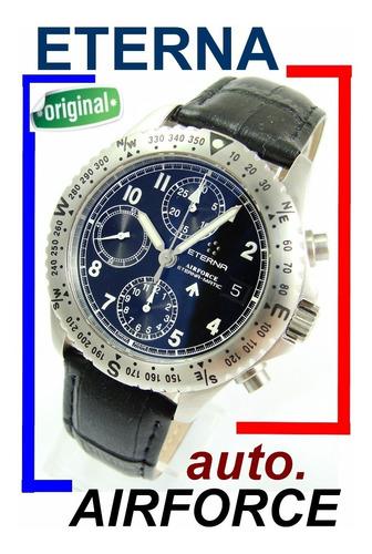 eterna airforce automatic chronograph militar moderno !