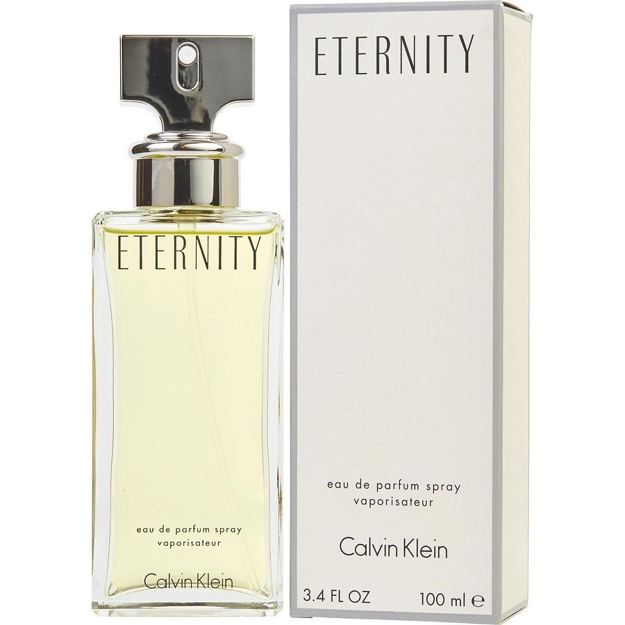 c4dfe8fc657f5 eternity calvin klein 100ml perfume importado mujer la plata. Cargando zoom.