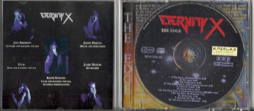 eternity x the edge 1997 prog/heav cd(ex+/ex)(germany)imp***