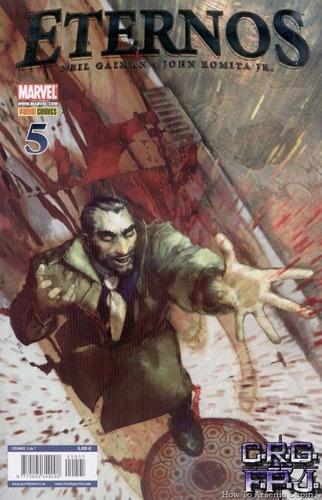 eternos n°1 a 7 (miniserie completa) - panini neil gaiman