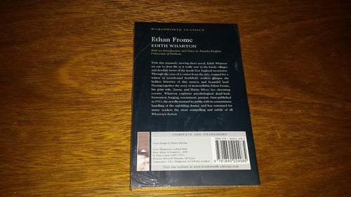 ethan frome - edith wharton - livro em inglês novo