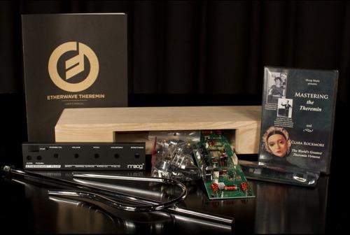 etherwave plus kit de moog music - theremin para armar diy