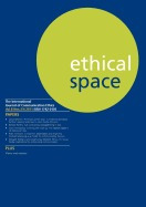 ethical space vol.8 issue 3/4, richard lance keeble