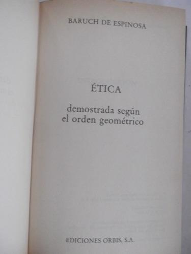 etica demostrada orden geometrico espinosa orbis tapa dura