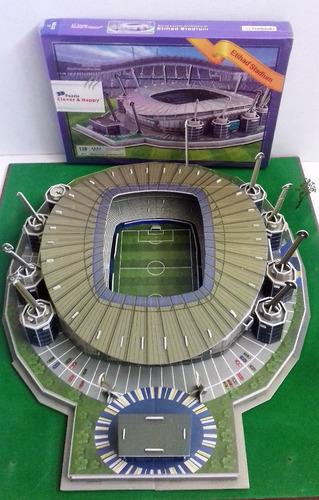 etihad stadium, rompecabezas en 3d
