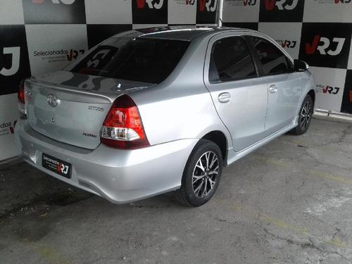 etios etios platinum sed. 1.5 flex 16v 4p aut.
