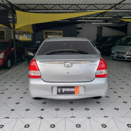 etios sedan 1.5 automático -único dono