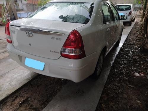 etios sedan 1.5 xls flex top de linha, completo - cor branco