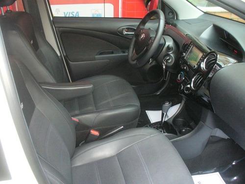 etios sedan platinum 1.5 automático flex - 2018 -