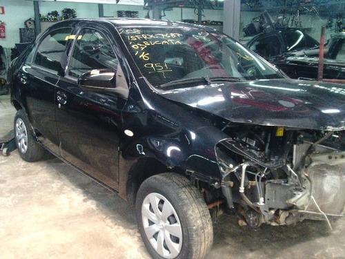 etios sedan sucata 1.5 xs motor , cambio ,acabamentos , etc