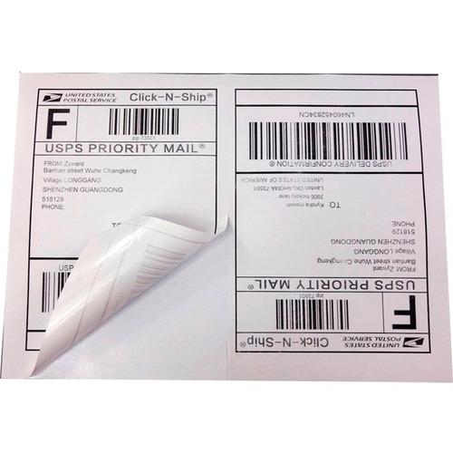 etiqueta adesiva mercado envios correios 500 folhas m livre