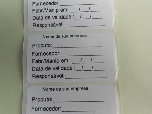 etiqueta adesiva restaurante plastica personalizada 7x4