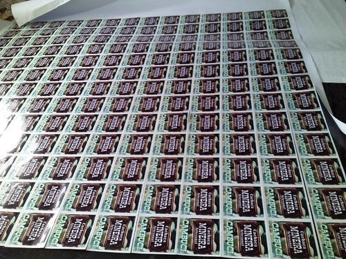 etiqueta adesivas personalidas 120 peças  apartir 75,00