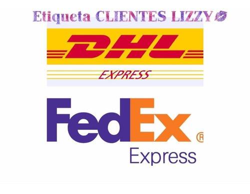 etiqueta de envío solo para clientes lizzy