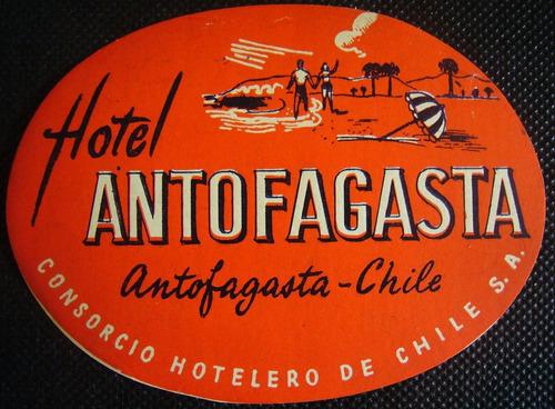 etiqueta de hotel para valijas o maletas