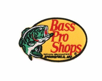 etiqueta original bass pro shop