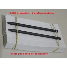 Etiqueta Para Decalque Chassi/motor-2000 Unid 2,5cm X 18,5cm
