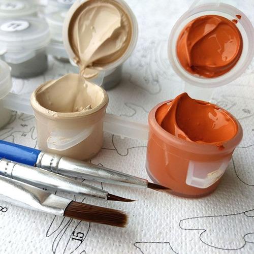 etiqueta pared diy pintura creativa numero oleo arte cm