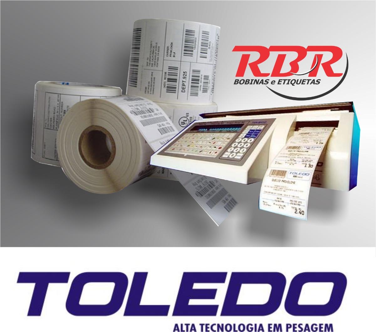 Etiqueta Termica De Balança Toledo 40x40 Prix R$ 99 99 em Mercado  #B91217 1200x1061 Balança De Banheiro Toledo