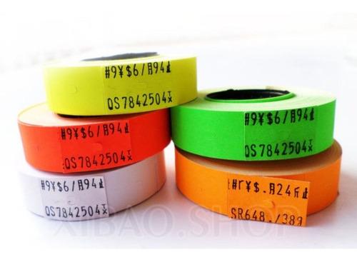 etiquetadora marcadora de precio doble linea