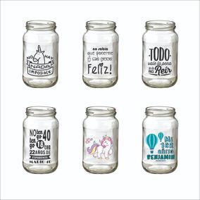Etiquetas Adhesivas Stickers Frases Frascos 50 Uds