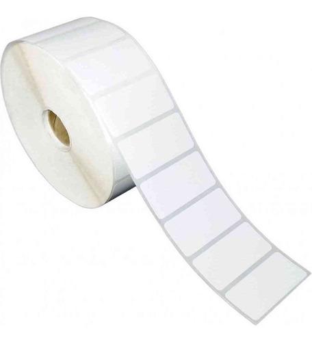 etiquetas adhesivas térmicas 5x2.5cms de 2.500 a una columna