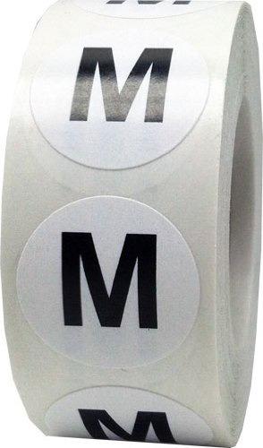etiquetas autoadhesivas 6 talles x 500 unidades x rollo
