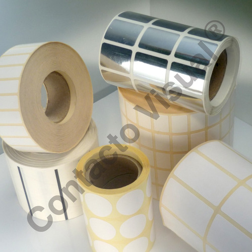 etiquetas autoadhesivas de 100x35 mm / rollo 1 banda x 1.000
