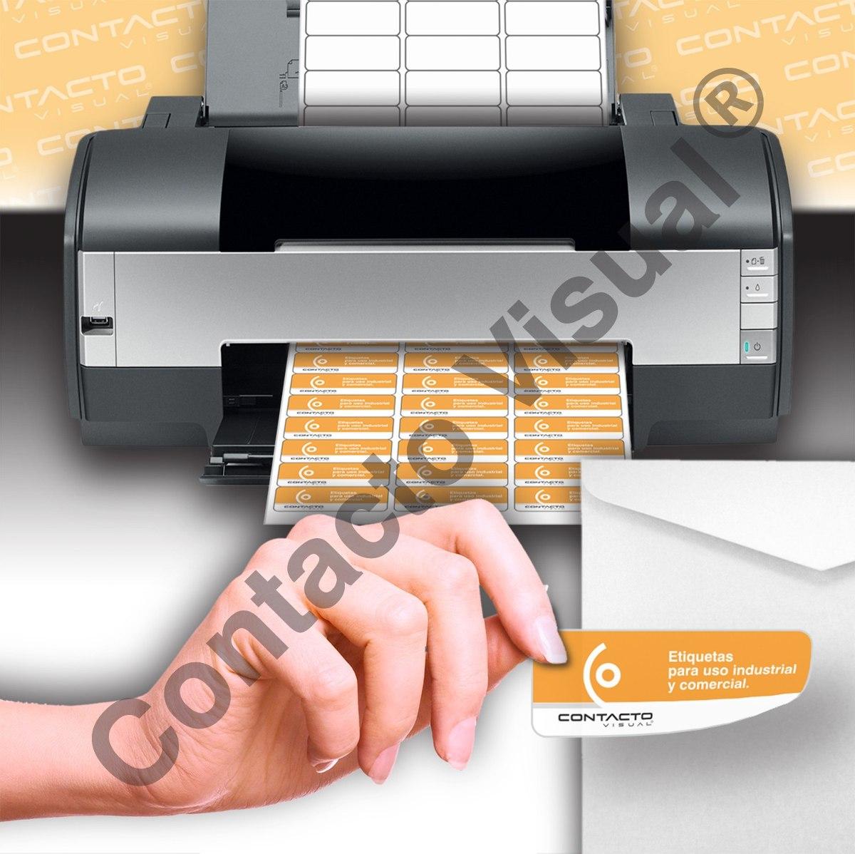Etiquetas Autoadhesivas En Hojas Para Impresoras (100 Hojas) - $ 490 ...