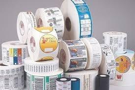 etiquetas autoadhesivas rollo a rollo y plano color