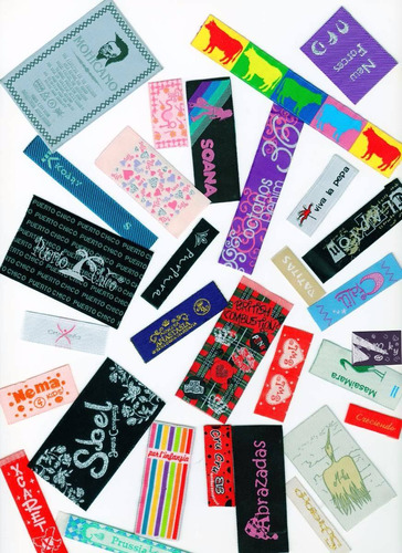 etiquetas bordadas. somos fabricantes